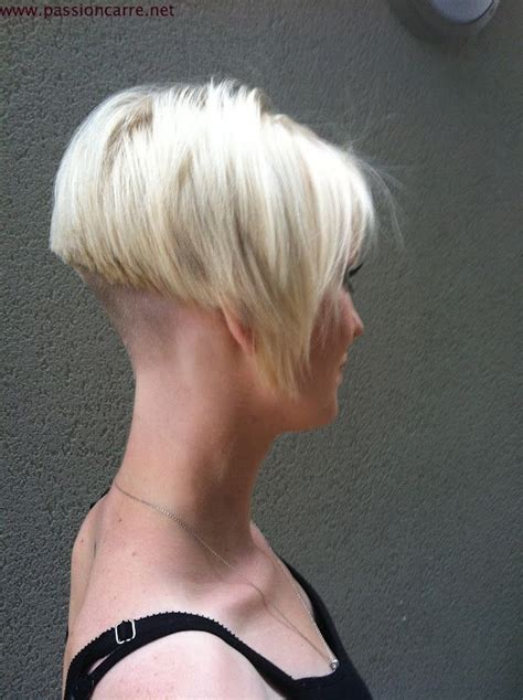 haircut bob undercut undercut bob hair pinterest