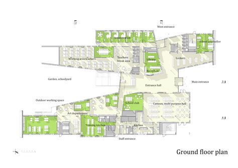 floor plan school mosfellsb 230 r preperatory high school a2f arkitektar