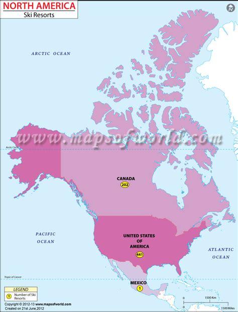 ski resorts in usa map america ski resorts map ski resorts in america