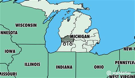 us area code michigan where is area code 616 map of area code 616 grand