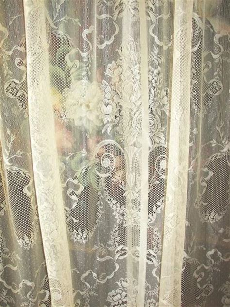 french country lace curtains vintage victorian neo classical french country net floral