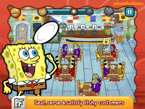 spongebob diner dash apk version image gallery spongebob app