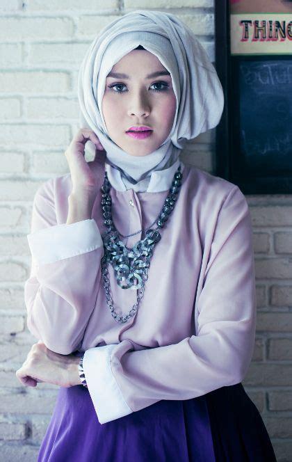 tutorial berhijab zaskia tutorial hijab modern zaskia adya mecca terbaru