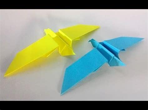 Origami Seagull - how to make an origami seagull 折り紙 簡単 かもめの折り方 doovi