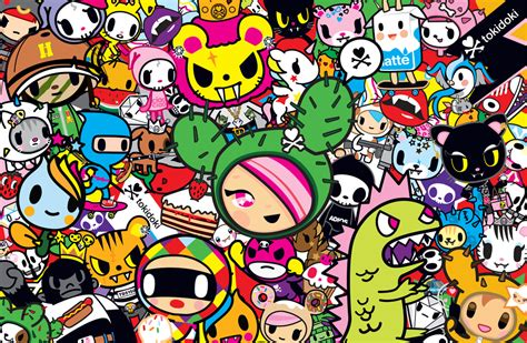 imagenes de muñecos kawaii tokidoki wallpaper characters wallpapersafari