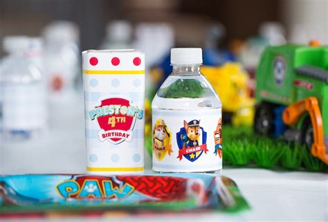 Table Design by Kara S Party Ideas Chic Paw Patrol Birthday Party Kara S