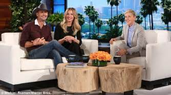 tim mcgraw ellen tim mcgraw and faith hill on their daughters dating