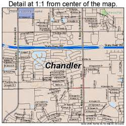 map chandler arizona chandler arizona map 0412000