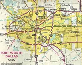 fort worth maps new dallas fort worth freeways book free