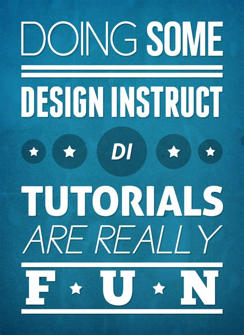 simple typography tutorial photoshop 12 brilliant illustrator and photoshop poster designing