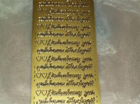 Aufkleber Einladung Zur Goldenen Hochzeit by Konturen Sticker Einladung Goldene Hochzeit Die