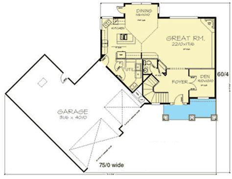 great room plans large great room with picture window 8596ms architectural designs house plans