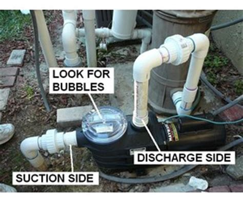 Air Bubbles In Water From Faucet by How To Identify And Correct Air Leaks Inyopools