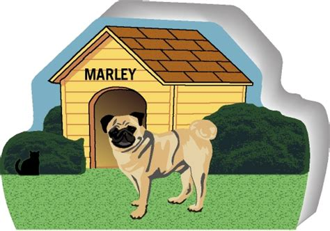 pug dog house dog house pug purrsonalize me the cat s meow village