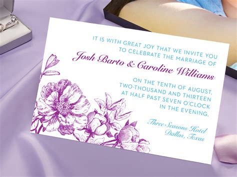 Invitation Printing by Custom Invitation Printing Services Fedex Office