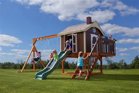 pirate swing set king swings the sailor s retreat wooden swingsets