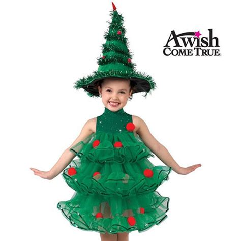 10 home made christmas tree costume ideas for girls
