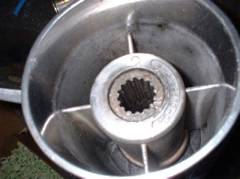 boat propeller spun hub spun prop what do you think offshoreonly