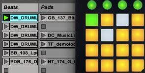Alat Dj Mini alat dj pad midi controller novation launchpad mini