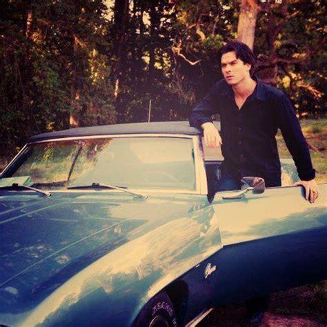 Damon Salvatore Auto by Damon Salvatore With His Camaro Convertable Sweet Tvd