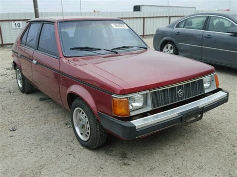 how cars run 1978 plymouth horizon electronic toll collection auto auction ended on vin 1p3bl18dxky441619 1989 plymouth horizon in tx waco