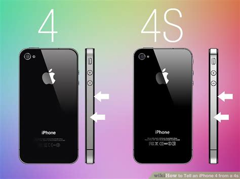 A Iphone 4 How To Tell An Iphone 4 From A 4s 8 Steps With Pictures