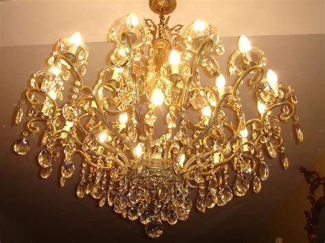 lustre ancien cristal ancien lustre a pilles de cristal lustre cristal