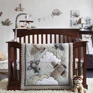 airplane crib bedding sets airplane crib bedding ebay