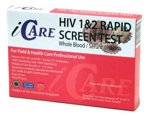 icare rapid hiv test kit blood std rapid tests