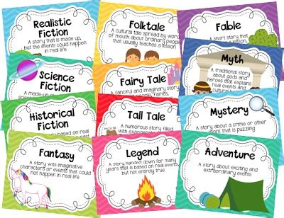 s day genre 7 best literature genres images on teaching