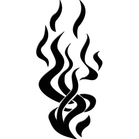 Flames Hitam free illustration flames silhouette shape free