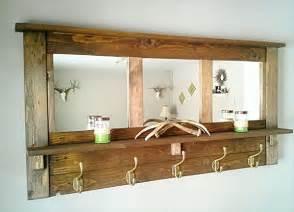 entryway wall organizer diy pallet mirrored coat rack pallet furniture diy