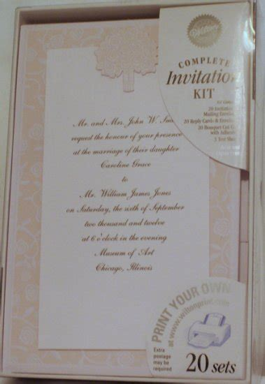 printable wedding invitations wilton 80 wilton print your own invitations turning up roses