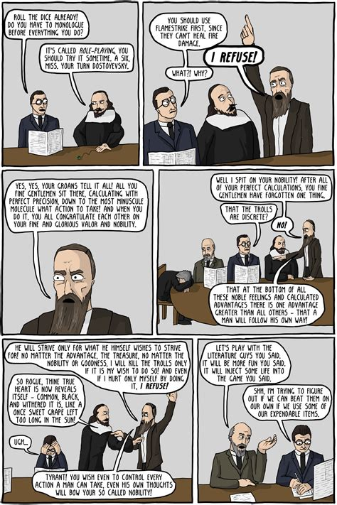 dungeons dragons philosophers iii at existentialcomics dungeons dragons philosophers no