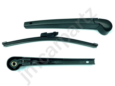 rear window wiper arm blade compatible with vw golf mk6