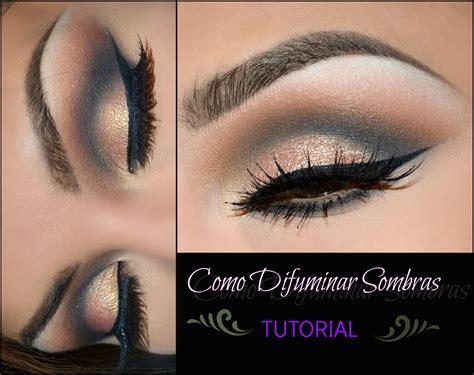 imagenes de ojos pintados con sombras como difuminar sombras tutorial how to blend eyeshadows