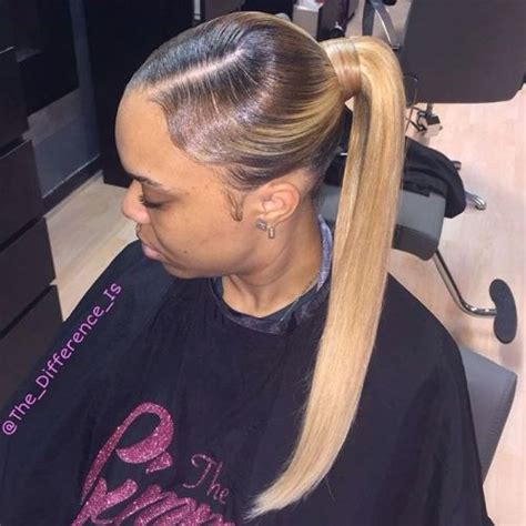 Black Hairstyles With Weave Ponytails by 30 Black Ponytail Hairstyles