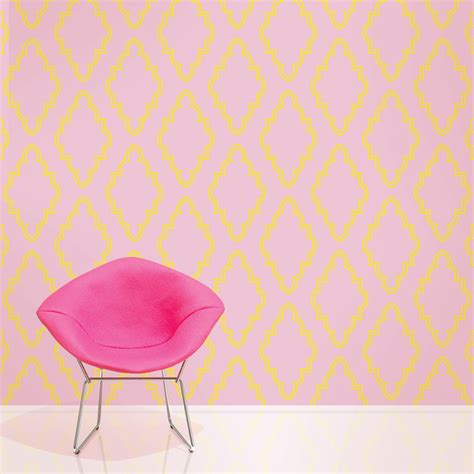 stickable wallpaper wallcandy arts quatrefoil self adhesive wallpaper at hayneedle