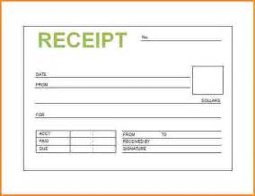 service receipts template free receipts template
