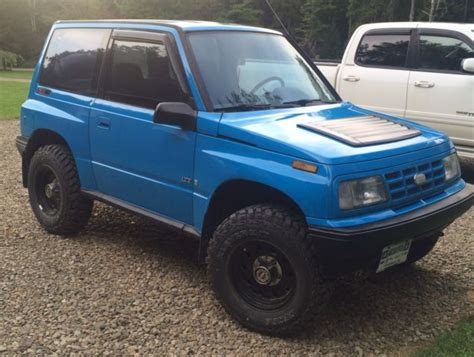 how cars engines work 1994 geo tracker navigation system 1994 geo tracker 4x4 blue rare tin top 5 speed manual classic geo tracker 1994 for sale