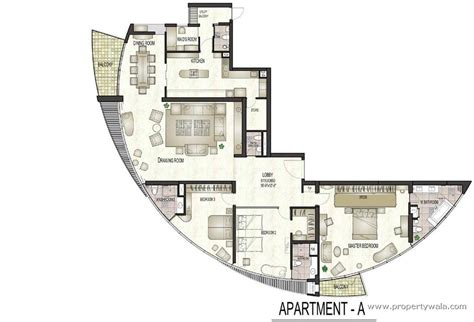 typical floor plans of apartments jaypee greens sun court golf course greater noida