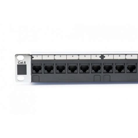 patch panel 16 16 patch panel cat6 inc rack nuts 16 data