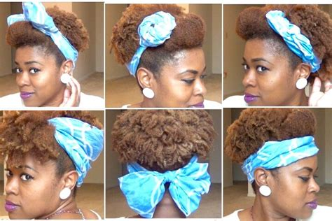 Scarf Black Hairstyles For Hair by Scarf Updos For Hair Curlynikki