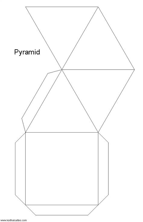 printable pyramid templates pyramid template http www korthalsaltes com model php
