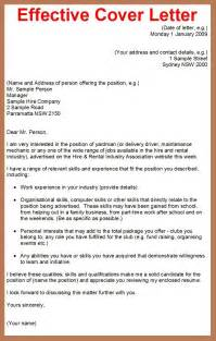 how to write a formal cover letter effective business letter writing sles the best