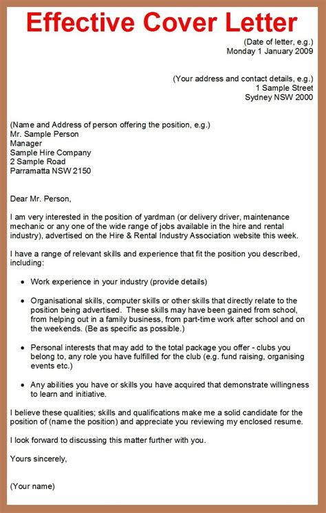 how to prepare a cover letter for a resume effective business letter writing sles the best