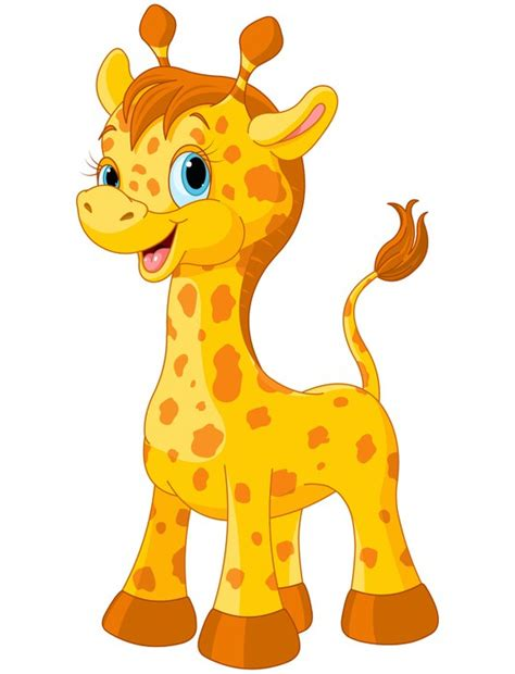 imagenes de jirafas animadas solo la cara vinilo para pared linda jirafa artwork grapa pixers es