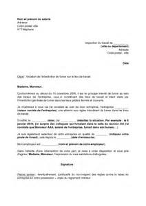 lettre de demande d application de l interdiction de fumer
