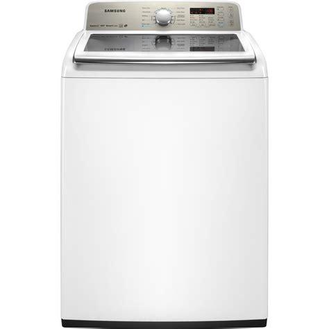 shop samsung 4 5 cu ft high efficiency top load washer