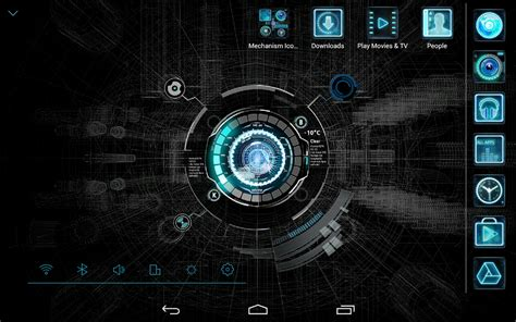 atom themes best black mechanic atom theme android apps on google play
